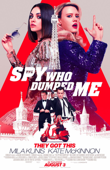 The_Spy_Who_Dumped_Me poster