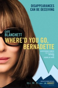 Where'd you go, Bernadette.  A mysterious Comedy.